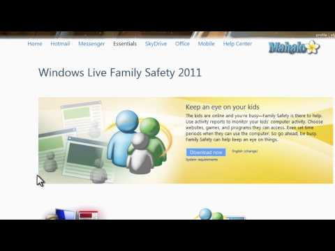 Windows Live Family Safety - Adding Computers