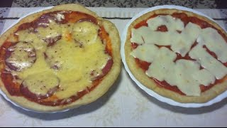 Pizza z Patelni - Szybka i Smaczna