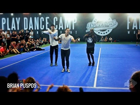 ★ Brian Puspos ★ I Like Them Girls ★ Fair Play Dance Camp 2015 ★