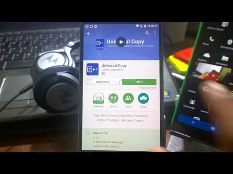 Hindi How To Copy Text From Any App On Android Facebook Twitter Instagram You Tumblr