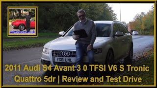 2011 Audi S4 Avant 3 0 TFSI V6 S Tronic Quattro 5dr   Review and Test Drive