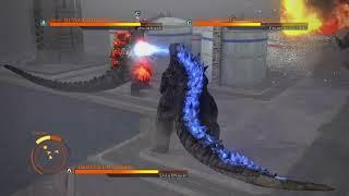 GODZILLA PS4 : Godzilla 2014 vs Burning Godzilla vs SpaceGodzilla