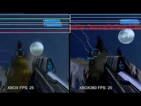 Halo PAL OG Xbox On Xbox 360 - Backward Compatibility Issues [ENG SUB]