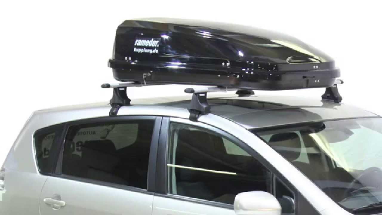 rameder black line 420 dachbox rameder anh ngerkupplung. Black Bedroom Furniture Sets. Home Design Ideas