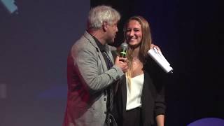 Simona Quadarella riceve la Castagna d'Oro 2018