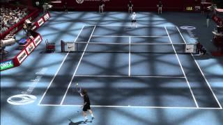 Top Spin 3 - Roger Federer vs. Andy Roddick