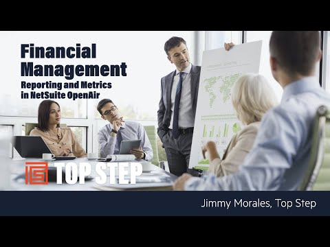 Financial Management With Netsuite OpenAir
