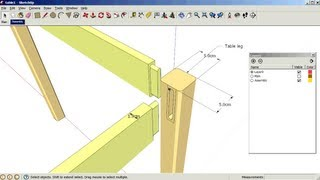 SketchUp: Using scenes and layers