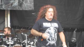 Fleshless live - Brutal Assault 2014