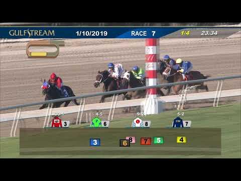 Gulfstream Park January 10, 2019 Race 7