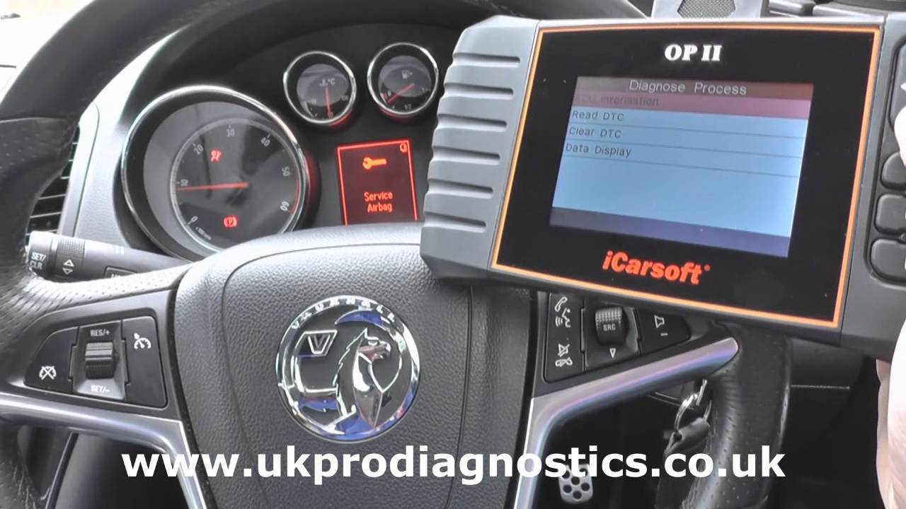 iCarsoft OP II Vauxhall Opel Oil Service Reset & Multi System