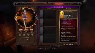 LIVE - DIABLO 3 Wizard Gameplay Paragon level grinding