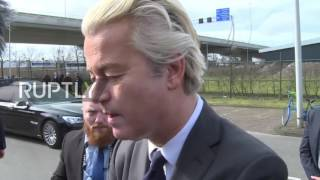 Netherlands: Wilders confident ahead of Dutch elections on March 15