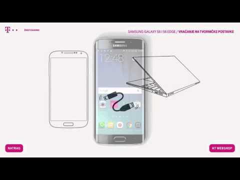 Samsung Galaxy S6 i S6 edge - Vraćanje na tvorničke postavke