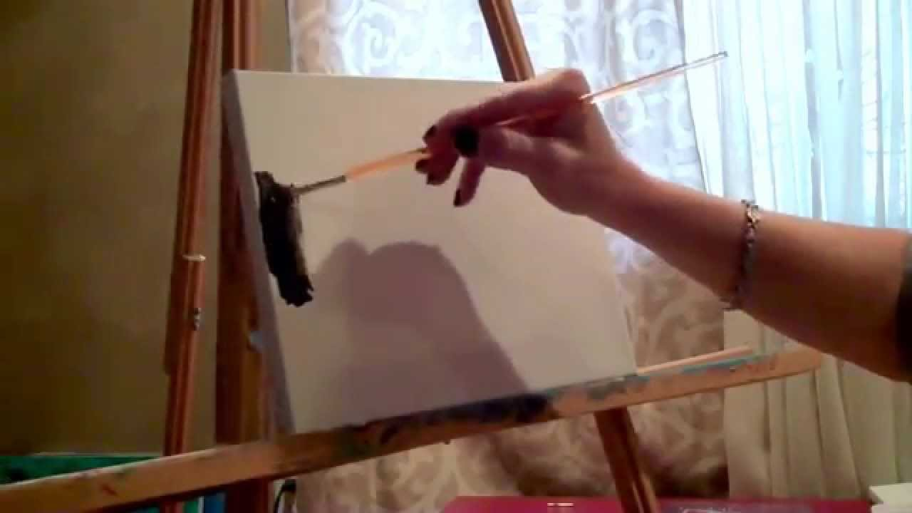 Light Up Your Paintings! - adding LED lights to paintings, Christina on