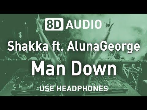 Shakka Ft. AlunaGeorge - Man Down   8D AUDIO