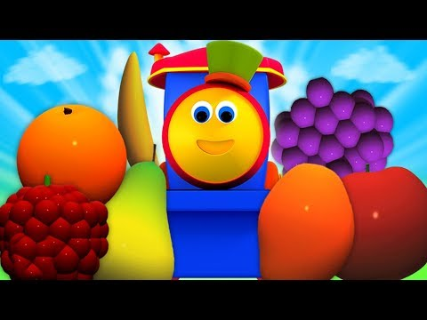 Bob chuyến tàu | học trái cây với bob | bài hát của trẻ em biên dịch trong tiếng việt | Fruits Train