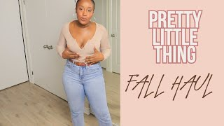 PRETTY LITTLE THING: WORTH YOUR COIN? A FALL HAUL - FINANCIAL FASHION EDITION @SOONATTGEE