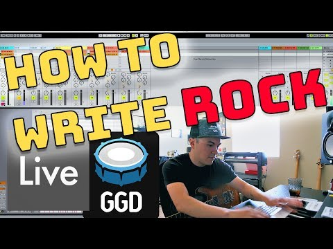 How To Write Rock Music (Ableton Live 9) 😱😱