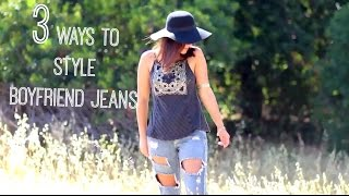 BOYFRIEND JEANS LOOKBOOK