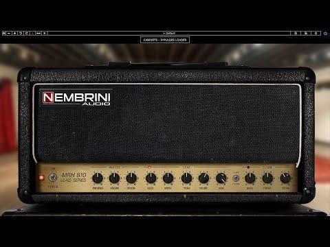 Nembrini Audio MRH810 Lead Series Guitar Amplifier Plugin