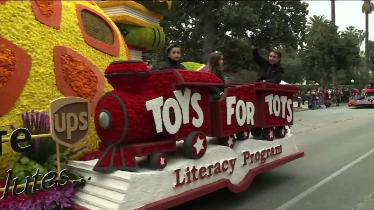 Rose Bowl Parade 2017 Float Highlights - YouTube