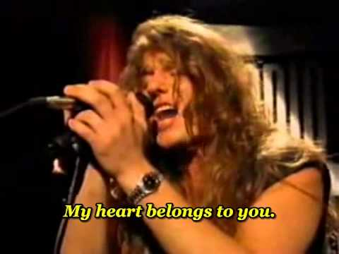 Steelheart - She's gone ( Unplugged ) - with lyrics