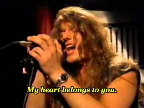 Steelheart  Shes gone  Unplugged   with lyrics