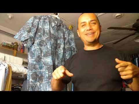 Clothing Haul Mens 2018 FOR SALE Reyn Spooner Hawaiian shirt Mens Large Mr Shirt Of The Day No80