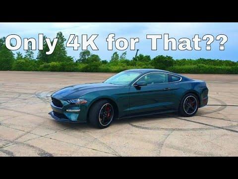 Is 2019 Ford Mustang GT BULLITT worth for 51k?? Full Review vs POV test drive