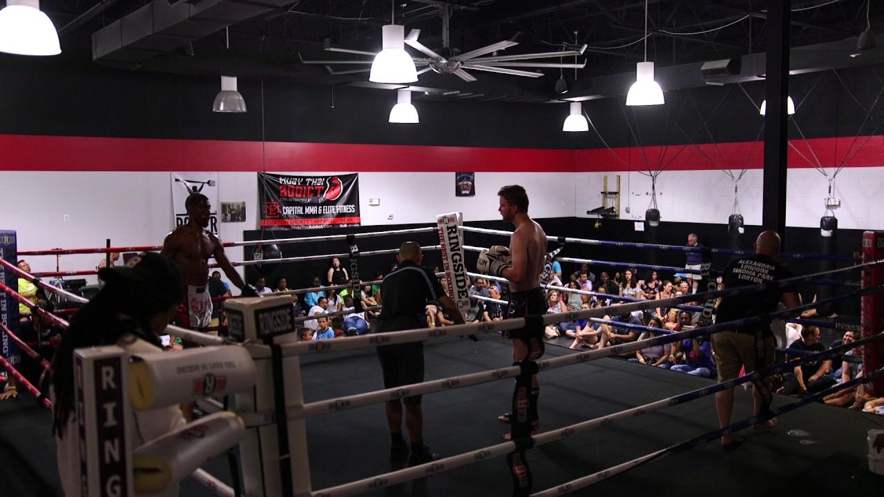 Download Muay Thai Smoker Fights   Charlie Damron vs Emmitt Reddock at Capital MMA   July 15, 2017