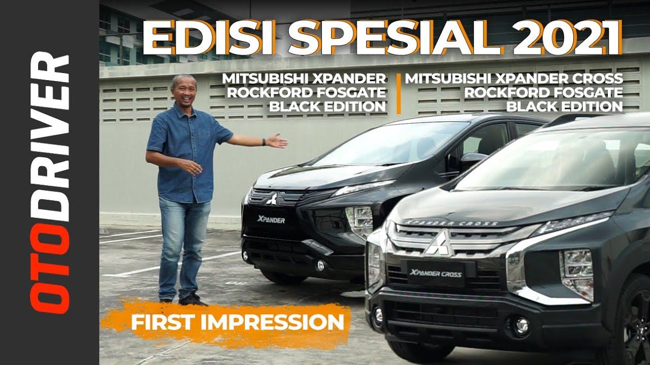 Mitsubishi Xpander & Xpander Cross Black Edition 2021 | First Impression | OtoDriver