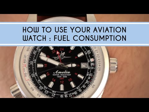 How to use Your Aviation Watch: Fuel Consumption Calculations