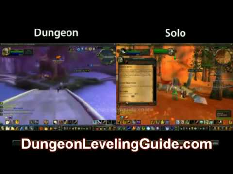 how to leave dungeon wow