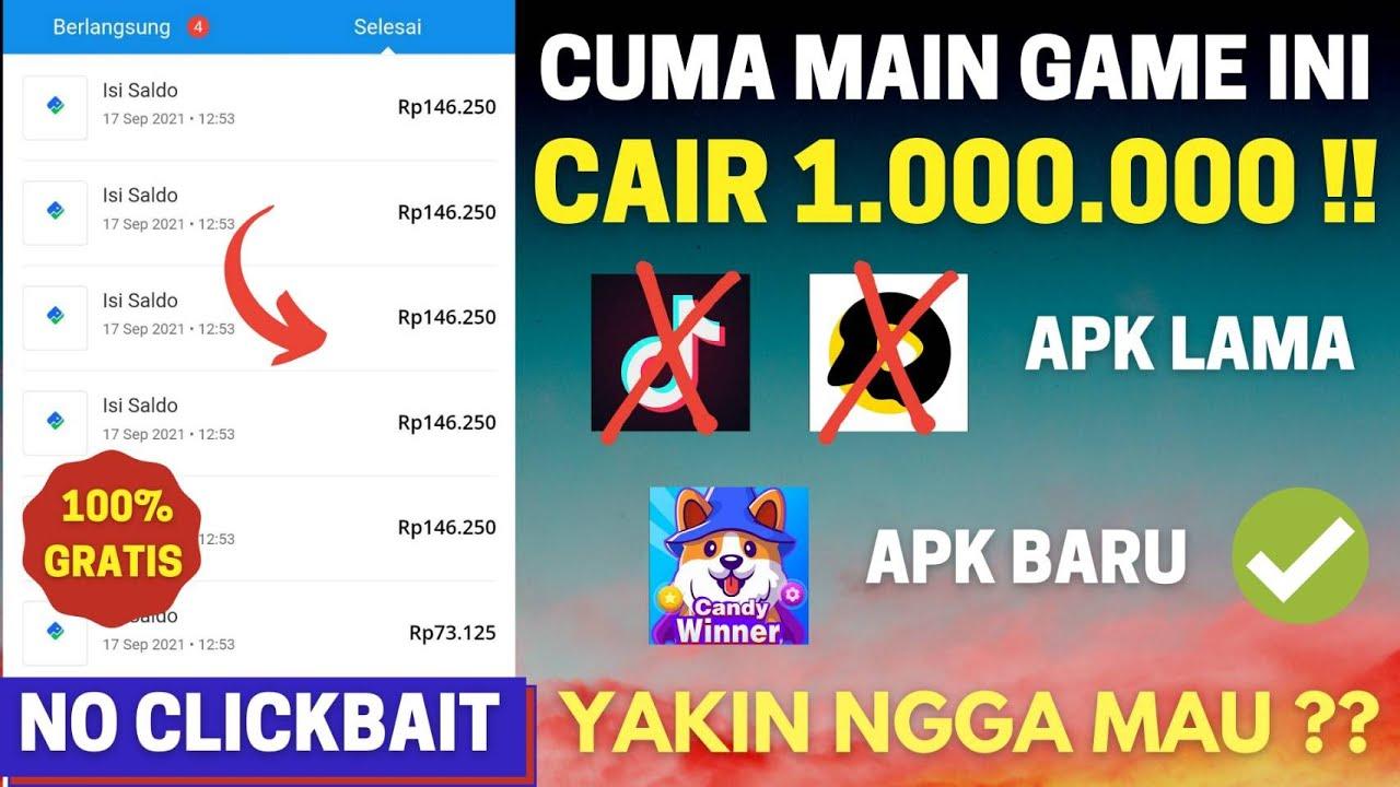 Main Game Dibayar 1 Juta !! Apk Penghasil Saldo Dana Tercepat 2021 Terbukti Membayar, Penghasil Uang
