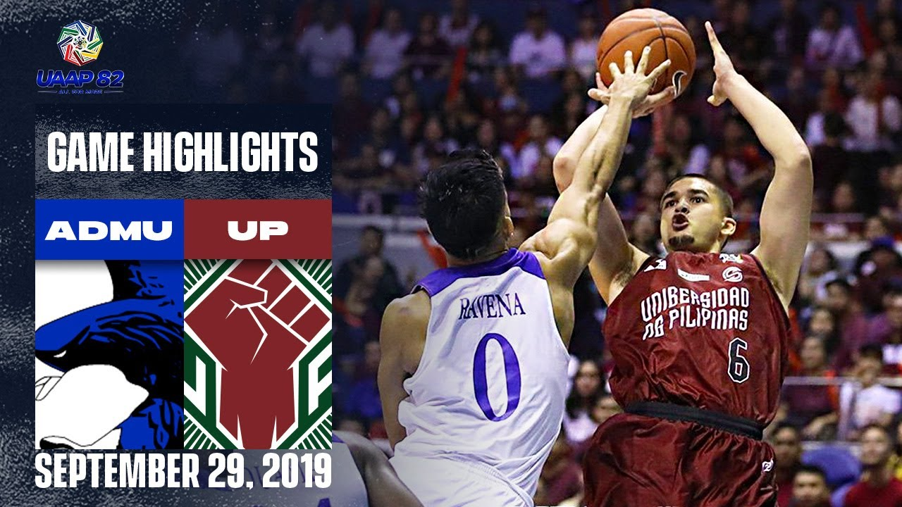 ADMU vs. UP - September 29, 2019 | Game Highlights | UAAP 82 MB