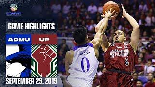 ADMU vs. UP - September 29, 2019 | Game Highlights | UAAP 82 MB