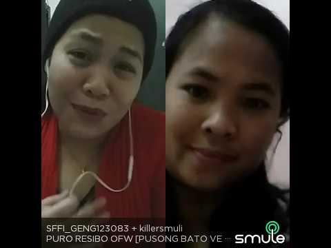 Ofw Song Pusong Bato  Recevo Version