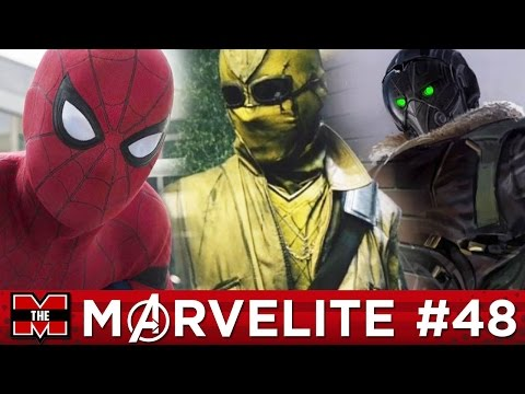 Spider-Man Homecoming Shocker & Villains Breakdown With SwagFoulNation! | Marvelite #48