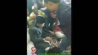 Dargah Barhane shah sahab Aimim floor leader Akbaruddin Owaisi MLA candidate Chandryangutta..Janab A