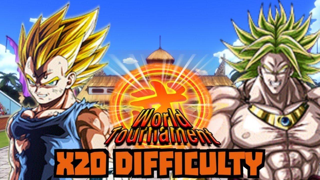 Lr Majin Vegeta Lr Broly World Tournament Destruction 20x