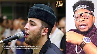 AMAZING ITALIAN IMAM Anas Barak reciting Quran in Torino Italy