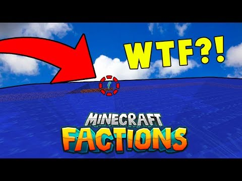 he spawned an ocean in our base.. | Minecraft FACTIONS (Cosmic PVP Server)