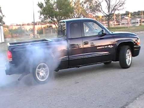 1998 Dodge Dakota Rt Burnout Youtube