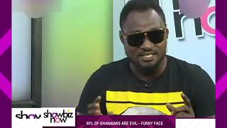 60% of Ghanaians are pure evil - Funny Face