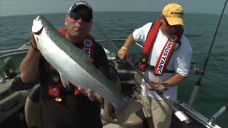 Using Electronics When Trolling the Great Lakes for Steelhead - Facts of Fishing THE SHOW