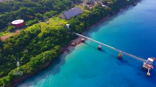 old sugar mill pier in aguadilla puerto rico