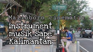 Malioboro cinematic instrument musik sape Dayak