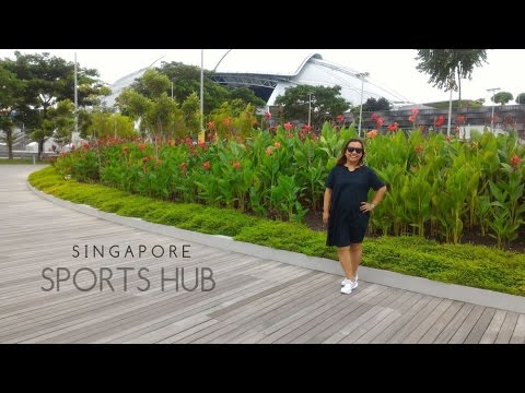 Singapore trip 2016 Day 1 | Singapore Sports Hub | Gardens by the Bay | Marina Bay Sands