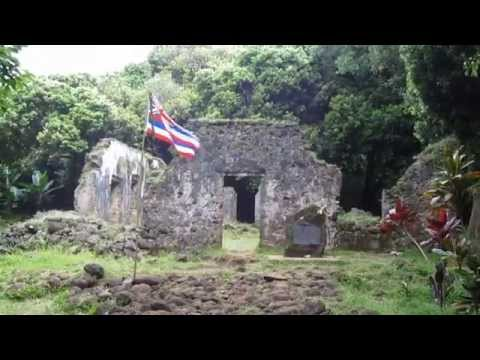 Kaniakapupu Ruins King Kamehameha III Summer Palace Oahu Hawaii